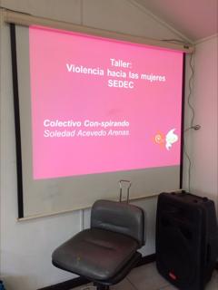 TALLER TÉCNICAS DE PRIMERA ACOGIDA Y EVALUACIÓN DE RIESGO A MUJERES QUE VIVEN VIOLENCIA